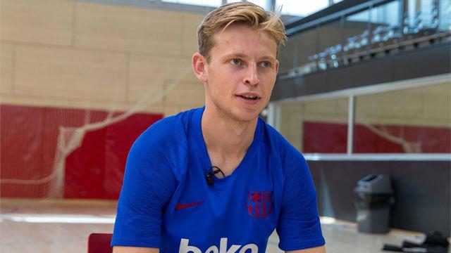La sincera opinión de De Jong sobre la decisión de De Ligt de fichar por la Juve