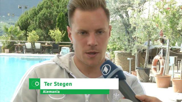 Ter Stegen se moja sobre su suplencia con Alemania