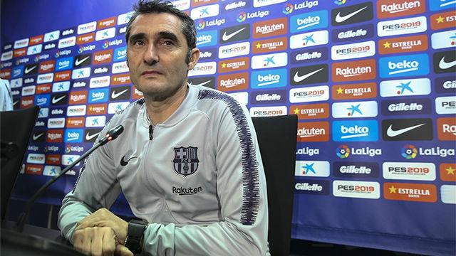 Valverde: Dembélé es de los jugadores más desequilibrantes del mundo