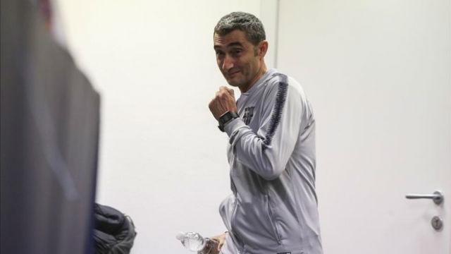 Valverde valoró el regreso de Umtiti