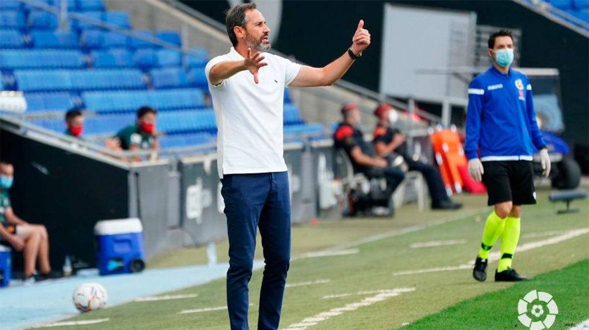 Vicente Moreno: No podemos estar contentos
