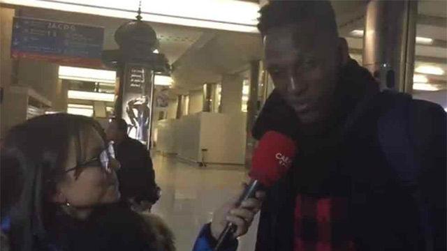 Yerry Mina: Estoy contento pese a ser suplente