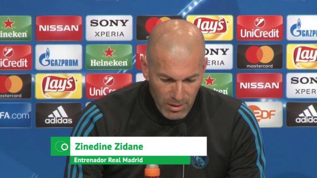 Zidane: No estoy en contra de James