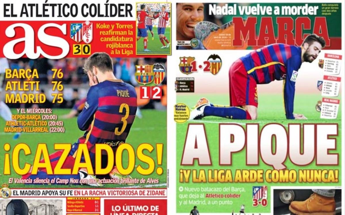 d23d1d5cb4 En Madrid se ceban con Gerard Piqué
