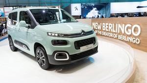 Citroën Berlingo en el Salón del Automóvil de Ginebra