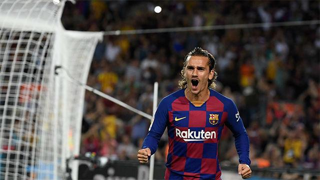 El 1x1 del Barça ante el Villarreal al descanso