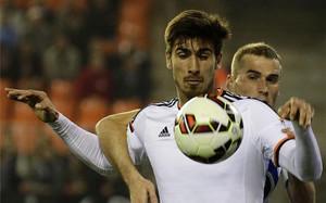 André Gomes ha hecho una gran temporada en el Valencia. Y con premio.