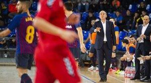 Andreu Plaza recalcó la actitud de sus jugadores