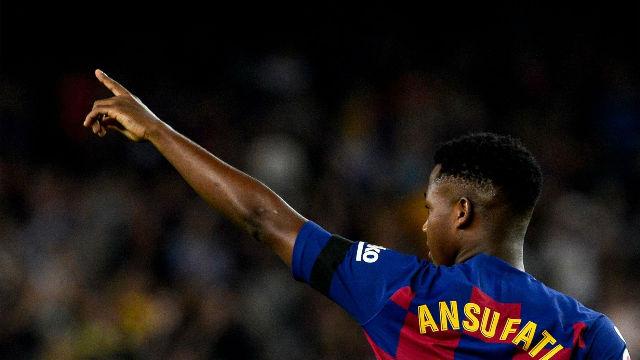 Ansu Fati y su récord y otros datos que nos deja la J4 de La Liga