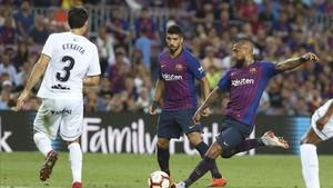 Arturo Vidal tiene su primera oportunidad de inicio con el FC Barcelona