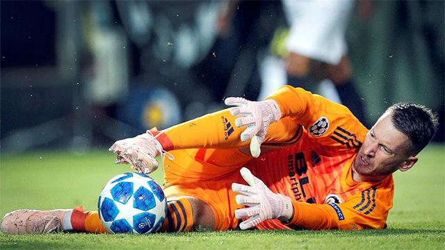 Así para Neto, nuevo portero del Barça