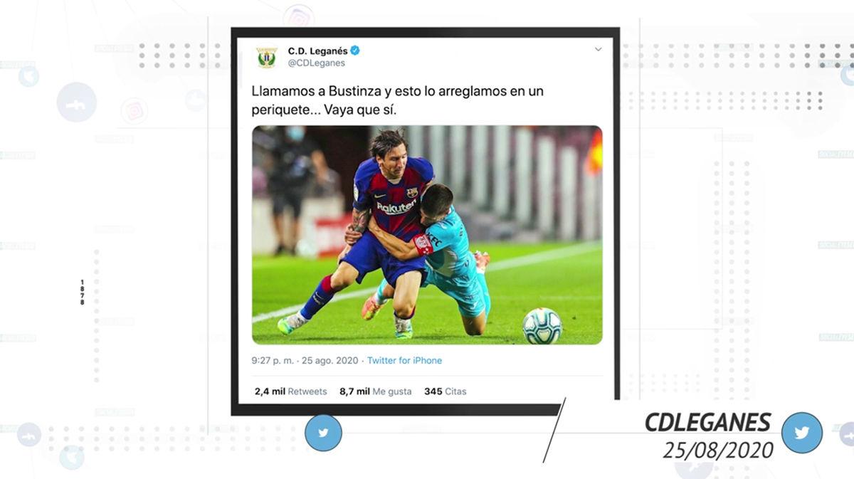 Así reaccionaron las redes al burofax de Messi