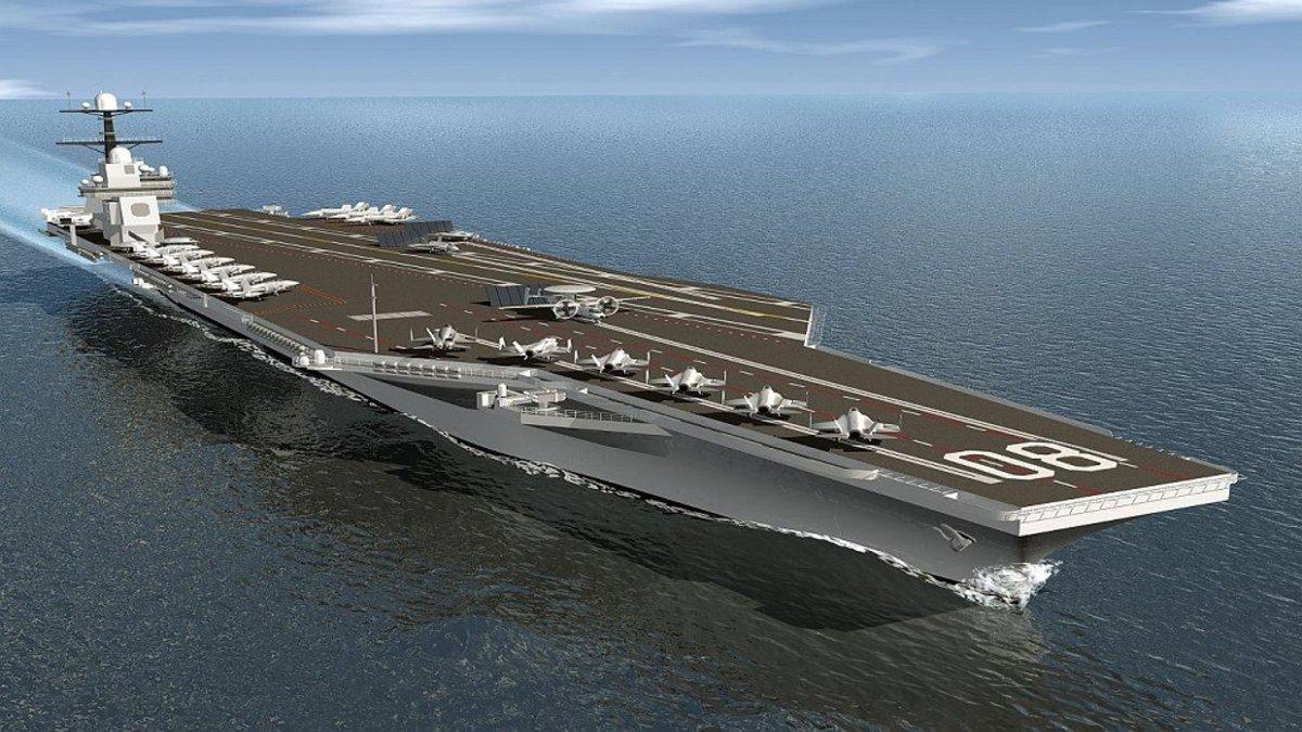Así será el nuevo portaaviones de la marina estadounidense, el USS Doris Miller
