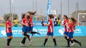 El balón ya rueda en la final mundial de la Danone Nations Cup