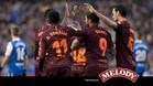 El Barça conquistó la Liga en Riazor pese a no jugar, ni mucho menos, su mejor partido