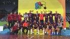 El Barça Lassa celebró a lo grande su cuarto título mundial