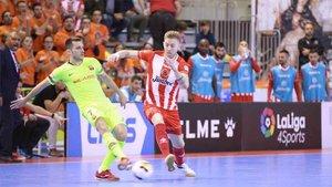 El Barça Lassa dejó escapar dos valiosos puntos