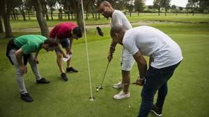 El Barça Lassa se ha divertido jugando a golf