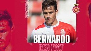 Bernardo seguirá en el Girona