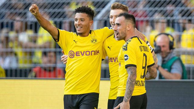 El Borussia avisa al Barça con una goleada al Leverkusen
