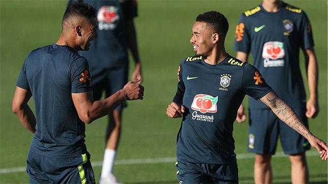 Brasil inicia preparación a Copa América solamente con seis convocados