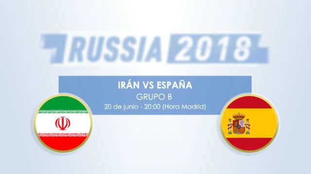 Cara a cara: Irán vs España