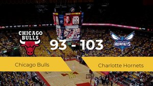 Charlotte Hornets consigue derrotar a Chicago Bulls en el United Center (93-103)
