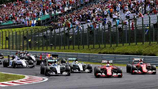 El circuito de Hungaroring del GP de Hungría de F1 (ES)