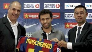 La convicción de Javier Mascherano fue vital para al final hace realidad su fichaje