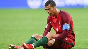 Cristiano Ronaldo no empieza con buen pie en la Copa Confederaciones