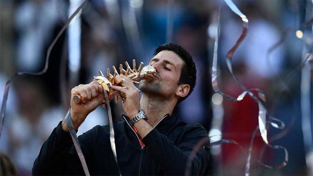 Djokovic, campeón del Mutua Madrid Open tras ganar a Tsitsipas (6-3 y 6-4)