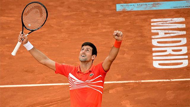 Djokovic: He jugado mi mejor tenis en Madrid
