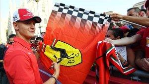 El domingo no acabó bien para Mick Schumacher