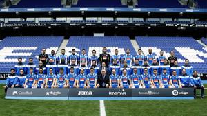 El Espanyol se hizo la foto oficial con Chen