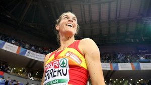 Esther Guerrero, semifinalista en el Europeo indoor
