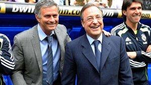 Florentino y Mourinho vivieron días felices en el pasado