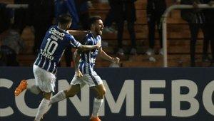 Godoy Cruz llegó a los octavos de final de la Copa Libertadores