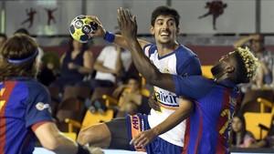 Granollers y Barça se vuelven a ver las caras en el primer derbi de la Liga ASOBAL 2017-18