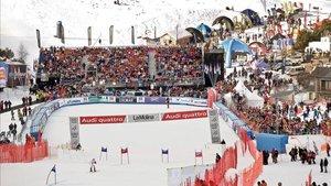 Han pasado diez años desde que La Molina albergó la primera Copa del Mundo de esquí alpino femenino