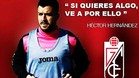 Héctor Hernández jugará en el Granada hasta junio