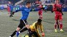 Ianis Hagi, hijo del exazulgrana Gica, juega en el Viitorul rumano