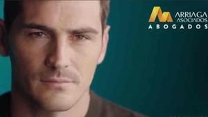 Iker Casillas es la imagen de un bufete de abogados