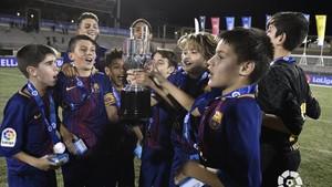 El Infantil B se impuso en la final al Valencia