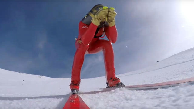 Jan Farrell y el sueño de superar los 231 km/h sobre unos esquís