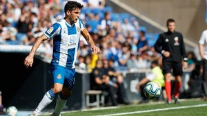 Javi López compareció ante los medios para analizar la situación del Espanyol.