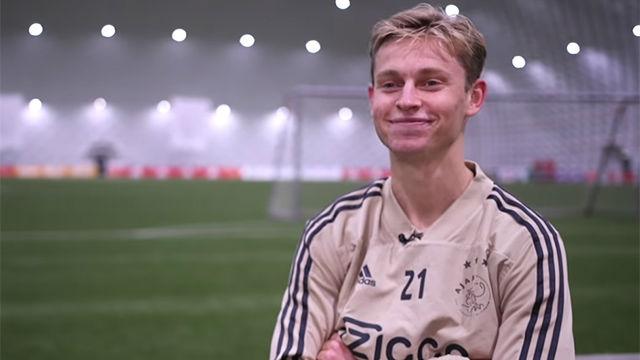 De Jong habló sobre él y su compañero Matthijs De Ligt