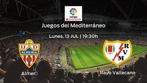 Jornada 40 de la Segunda División: previa del encuentro Almería - Rayo Vallecano