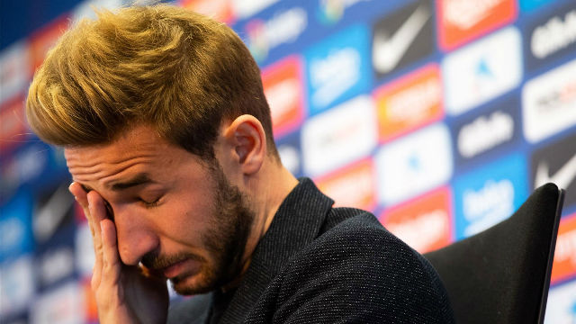La lágrimas eran inevitables: El emotivo discurso de Samper para despedirse del Barça