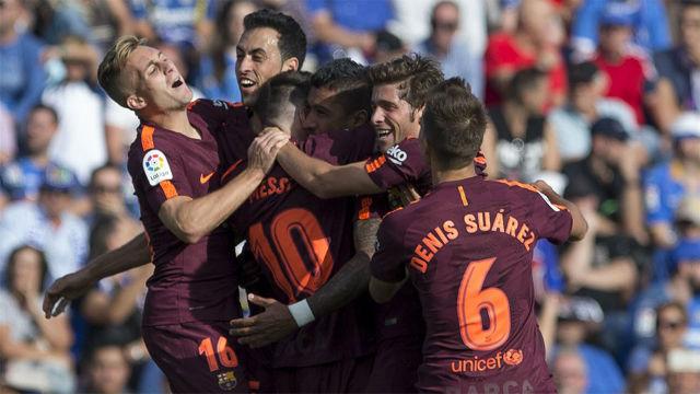 LALIGA FCB   Getafe-Barça (1-2)
