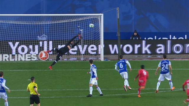 LALIGA   Real Sociedad - Getafe (1-2): El golazo de Ángel